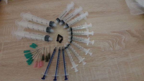 Sada stříkaček ( 15pack Industrial Syringe)