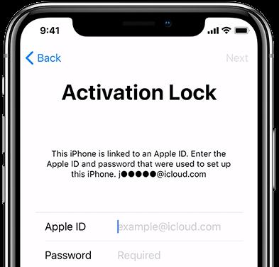 Odblokování iCloud účtu model iPhone 6,6+,6s,6s+,7,7Plus,8,8Plus,X
