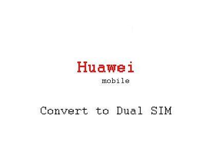 convert Dual SIM Huawei P10 Lite, P10, P10 Plus, Mate 10 Pro