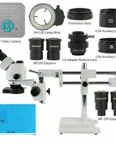3.5-180X Trinocular Stereo Mikroskop Set +36MP 4K UHD HDMI USB Camera