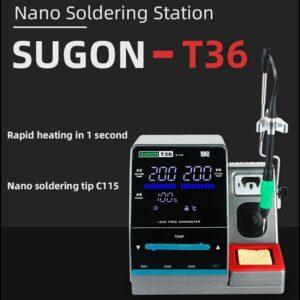 Sugon T36 pajeci stanice JBC C115 Serie Nano pajeci rukojet