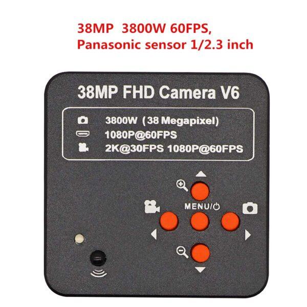 Full HD 38MP HDMI USB Mikroskop Kamera 1080P 60FPS