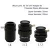 SZMCTV 1/2 Adapter C-mount objektiv