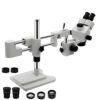 Mikroskop 3,5X-90X Trinokulární Stereo Mikroskop se stojanem