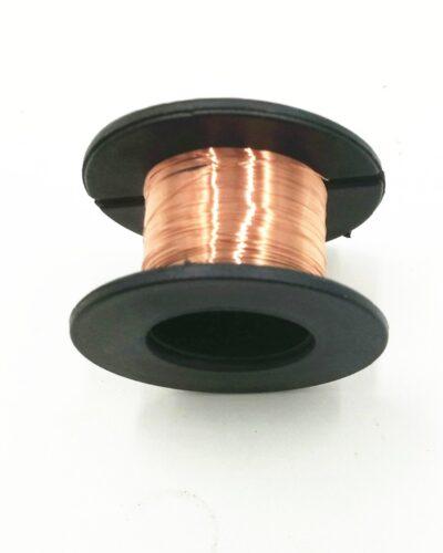 Smaltovaný měděný drát 0.1mm 15m sada 3ks