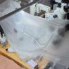AmScope 7X-114X Stereo Trinokulár Mikroskop Simul Lock Focal Zoom